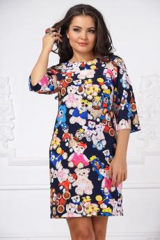 Платье с мишками Liora